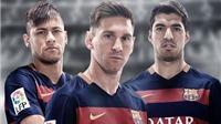 Barca thống trị danh sách 23 ứng viên cho QBV FIFA 2015