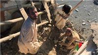 Chùm ảnh: Vụ động đất 8,1 độ richter ở Afghanistan kinh hoàng không kém vụ động đất ở Nepal