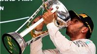 Con số & Bình luận: Lewis Hamilton gia nhập hàng ngũ tay đua nhiều lần vô địch F1