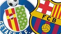 Link truyền hình trực tiếp và sopcast trận Getafe - Barca (02h30, 01/11)
