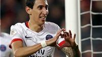 Rennes 0 - 1 PSG: Veratti chuyền tuyệt đỉnh, Di Maria ghi bàn, PSG thắng trận thứ 10