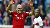 Robben ghi bàn sau pha phản công 'như điện' của Bayern Munich