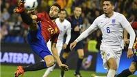 Tây Ban Nha 2-0 Anh: Fabregas kiến tạo, Gaspar ghi tuyệt tác, TBN áp đảo hoàn toàn