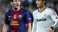 'Kinh điển' Real Madrid - Barcelona: Ronaldo xưng bá ở châu Âu, châu Phi yêu Messi