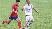 U21 Myanmar quyết thắng U21 HAGL