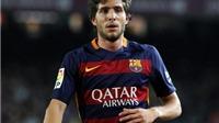 Phong độ chói sáng, Sergi Roberto sắp được Barca 'thưởng nóng'