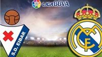 Link truyền hình trực tiếp và sopcast trận Eibar - Real Madrid (22h00, 29/11)