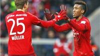 Bayern Munich 2-0 Hertha Berlin: Mueller, Coman lập công, Bayern đi dạo trước Hertha Berlin