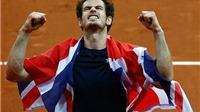 Murray: 'Thật không thể tin nổi là tôi đã vô địch Davis Cup'