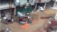 Hà Nội: Sập thang nâng tại công trình xây dựng chung cư, 3 người thương vong