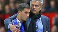 Mourinho khích lệ tinh thần Hazard bằng... thư tay