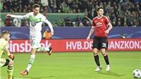 VIDEO: Wolfsburg phối hợp ghi bàn như 'trêu ngươi' Man United