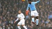 Man City 2-1 Swansea: 3 điểm nghẹt thở cho thầy trò Pellegrini
