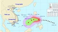 Đêm nay bão Melor giật cấp 14-15 đổ bộ Biển Đông