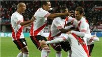 Hạ đội bóng 'hay nhất Nhật Bản', River Plate vào Chung kết FIFA Club World Cup 2015