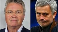 Guus Hiddink được thông báo dẫn dắt Chelsea sau khi Mourinho bị sa thải