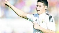 Real Madrid: James Rodriguez quyết đòi hợp đồng mới