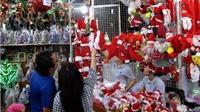 Thị trường Giáng sinh: 'Nghịch lý' trăm người mua, vạn người bán