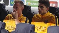 Luis Enrique không trọng dụng, Ter Stegen và Bartra có thể rời Barca