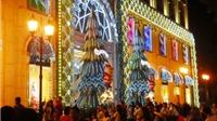 Sài Gòn lung linh sắc màu, ngập tràn không khí Giáng sinh