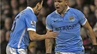 Watford 1-2 Man City: Toure và Aguero lập siêu phẩm, Man City ngược dòng ngoạn mục