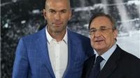 Florentino Perez: 'Sa thải Benitez là một quyết định khó khăn. Với Zidane, không gì là không thể'