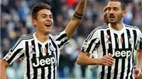 Vòng 18 Serie A: Juventus thắng trận thứ 8 liên tiếp. Milan thua đau ngay trên sân nhà