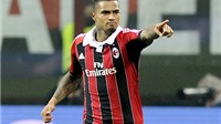 Kevin-Prince Boateng trở lại Milan đến hết mùa