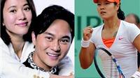 Mỹ nam Trương Trí Lâm & Viên Vịnh Nghi đấu tennis với Li Na trên TV