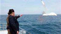Xuất hiện video ông Kim Jong-un xem phóng tên lửa đạn đạo từ tàu ngầm