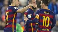 Espanyol 0-2 Barcelona (1-6): Messi kiến tạo, Munir lập cú đúp, Barca lọt vào Tứ kết