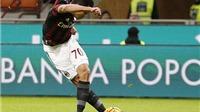 VIDEO: Mục tiêu của Chelsea lập siêu phẩm 'rabona' cho Milan