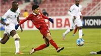 VIDEO: U23 Thái Lan giành điểm từ tay 'cáo sa mạc'