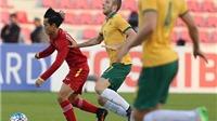 U23 Việt Nam 0-2 U23 Australia: Minh Long xuất sắc, hậu vệ mắc sai lầm