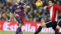 Barca 6-0 Athletic Bilbao: Suarez lập hat-trick, Barca thắng đậm trên sân nhà