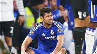 Diego Costa chỉ bị sưng chân, chứ không gãy