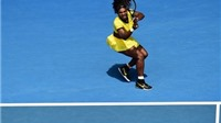 VIDEO: Serena Williams hạ gục Sharapova ở Tứ kết Australian Open 2016