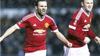 Derby County 1-3 Man United: Rooney lại ghi bàn, Mata hết khát, Quỷ đỏ giải tỏa sức ép