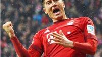 Bayern Munich 2 - 0 Hoffenheim: Aubameyang gọi, Lewandowski trả lời