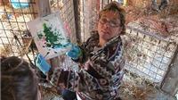 VIDEO: Chiêm ngưỡng những 'kiệt tác' của những họa sĩ khỉ tài năng