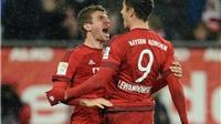 Augsburg 1-3 Bayern: Song sát Lewandowski – Mueller tiếp tục đưa Bayern bay cao