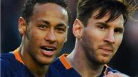 Ronaldo: 'Neymar có thể là người kế thừa của Messi'