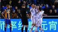 CẬP NHẬT tin sáng 23/2: Man United đã thắng. Tiến Minh ký hợp đồng tài trợ 1 tỷ với Mizuno