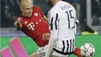 Xem pha đi bóng và cứa lòng mang thương hiệu Robben vào lưới Juventus