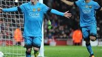 THỐNG KÊ: Thắng Arsenal, Barca đã bất bại 33 trận liên tiếp