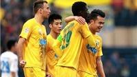 VIDEO: Tổng hợp bàn thắng vòng 2 V-League 2016
