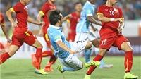 22h00 ngày 5/3, Man City - Aston Villa (Lượt đi: 4-0): Man City mất cúp từ lúc ở… Việt Nam?
