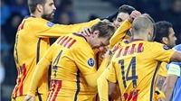 Eibar 0-4 Barcelona: Không ai cản được Barca chiến thắng