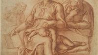 Tranh 'Madonna of Silence' của Michelangelo 'tái xuất' sau 50 năm