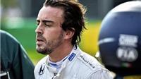 Alonso thoát chết sau tai nạn: 'Tôi như bị ném vào một chiếc máy giặt khổng lồ'